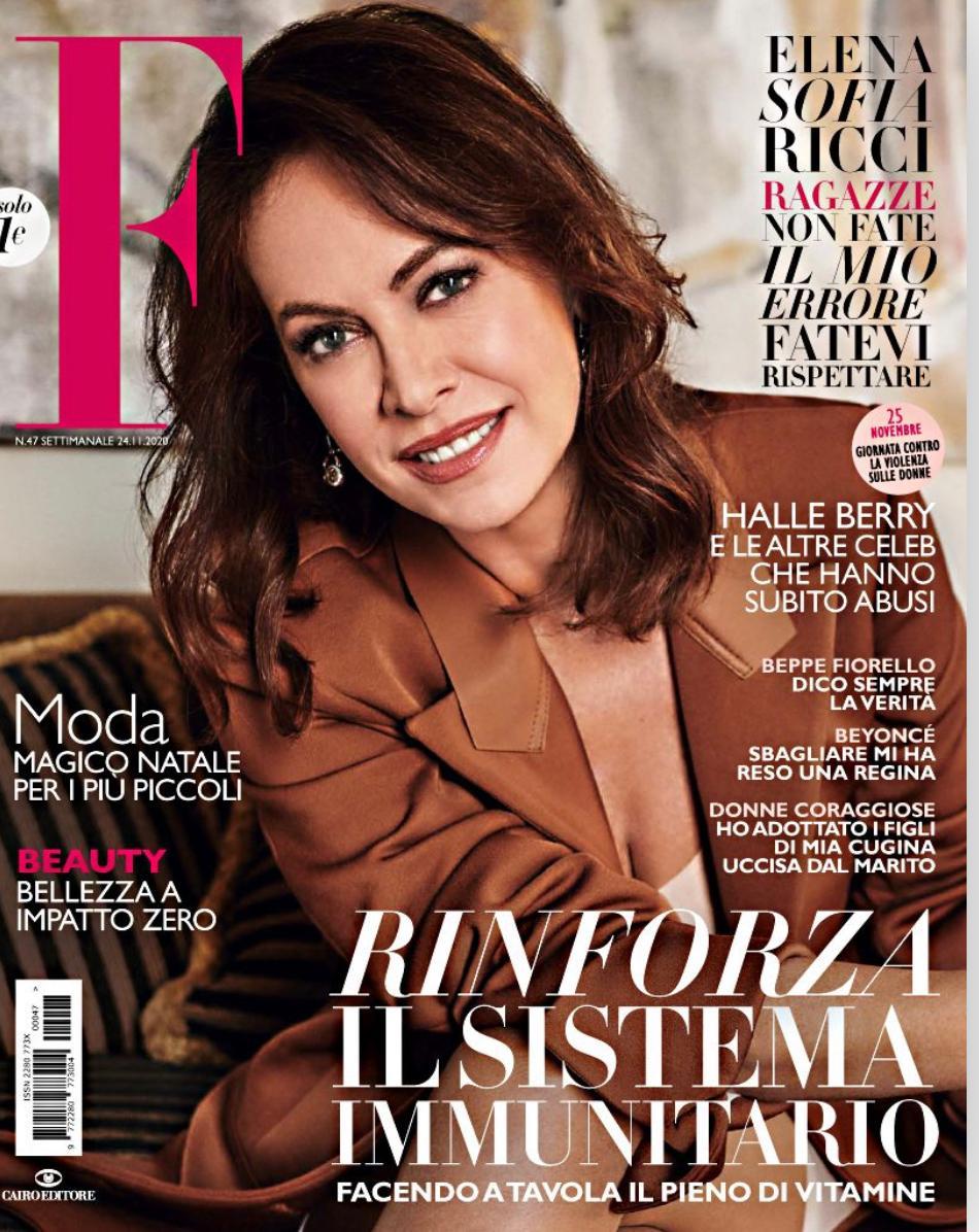 F Magazine Cover